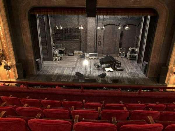 Walter Kerr Theatre, sección: Mezz C, fila: E, asiento: 107