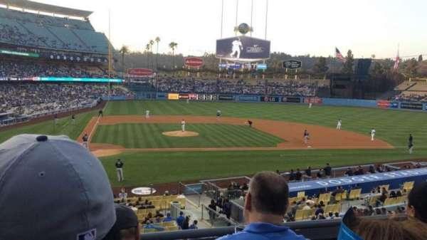 Dodger Stadium, sección: 122LG, fila: C, asiento: 3