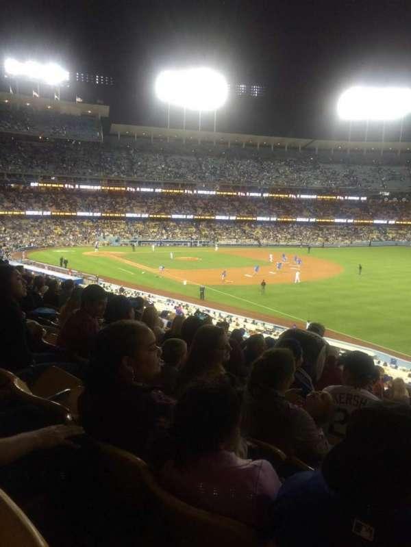 Dodger Stadium, sección: 158LG, fila: N, asiento: 16