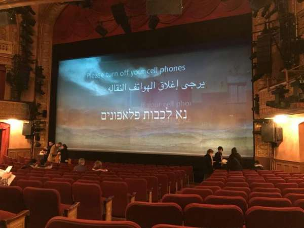 Ethel Barrymore Theatre, sección: ORCR, fila: N, asiento: 6 And 8