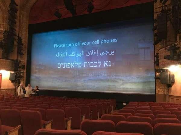 Ethel Barrymore Theatre, sección: ORCR, fila: M, asiento: 6 And 8
