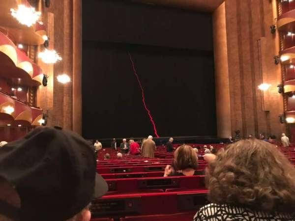 Metropolitan Opera House - Lincoln Center, sección: ORCL, fila: X, asiento: 11 And 13