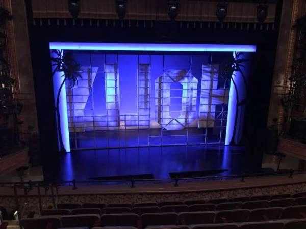 Nederlander Theatre, sección: Mezzanine C, fila: G, asiento: 112 And 113