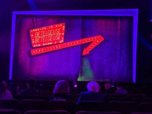 Winter Garden Theatre, sección: Orchestra C, fila: H, asiento: 105 & 106