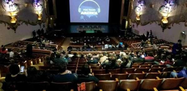 Crest Theatre, sección: UpprBalC, fila: RR, asiento: 111