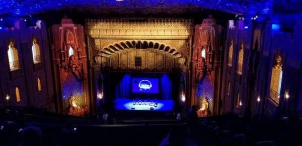 Fox Theatre Oakland, sección: UpperBalc, fila: BB, asiento: 126