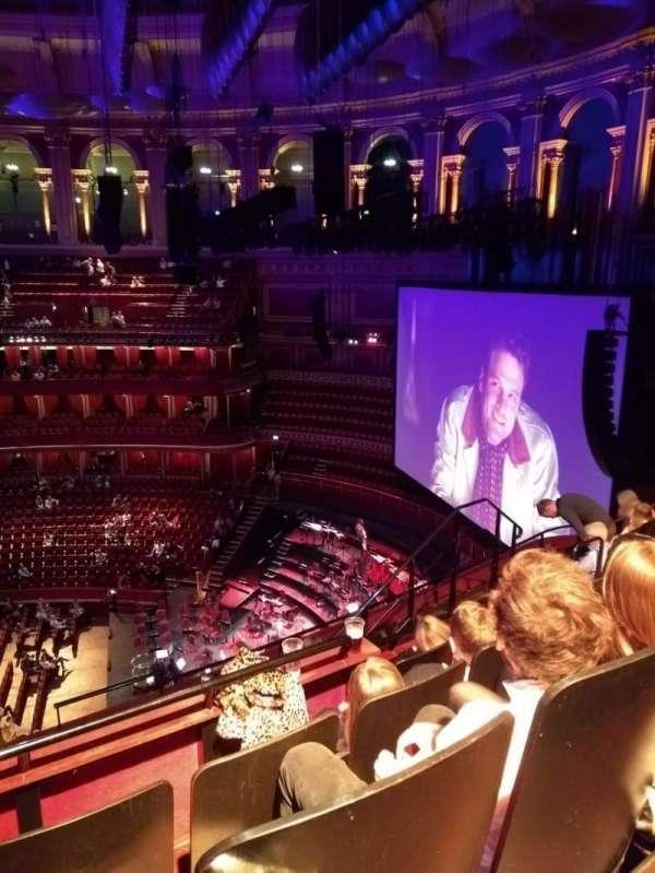 Royal Albert Hall, sección: Circle Y, fila: 6, asiento: 231