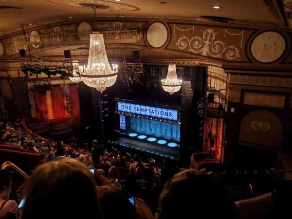 Imperial Theatre, sección: Rear Mezzanine 1, fila: J, asiento: 6