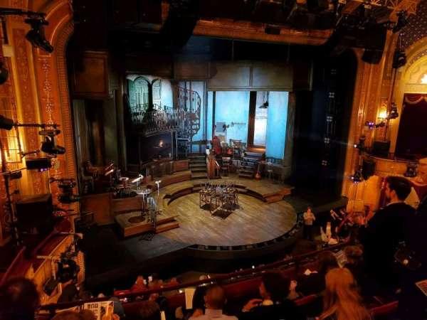 Walter Kerr Theatre, sección: Mezzanine L, fila: E, asiento: 17