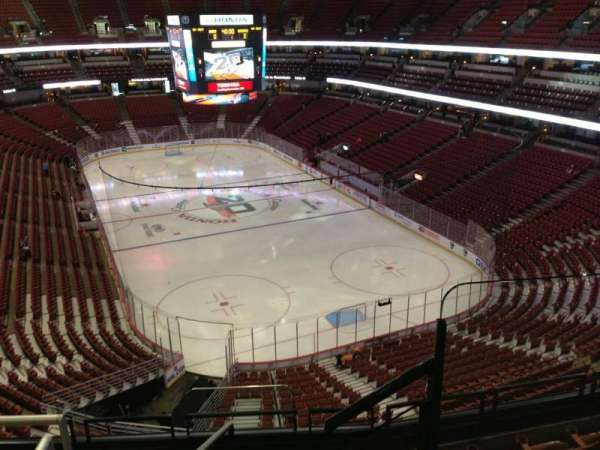 Honda Center, sección: 425, fila: F, asiento: 1