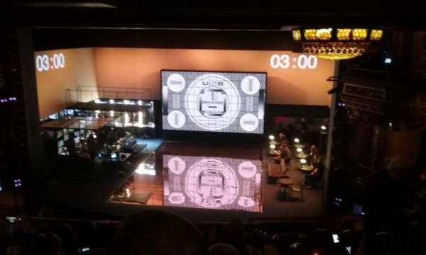 Belasco Theatre, sección: Mezzanine C, fila: G, asiento: 113