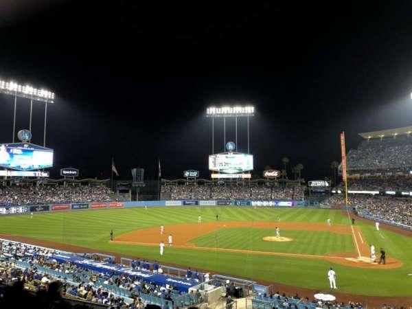 Dodger Stadium, sección: 119LG, fila: F, asiento: 6