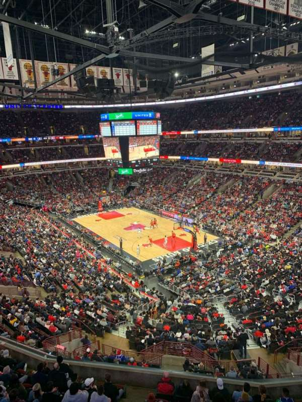 United Center, sección: 312, fila: 1, asiento: 14