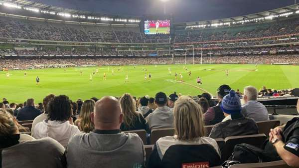 Melbourne Cricket Ground, sección: M28, fila: X, asiento: 17