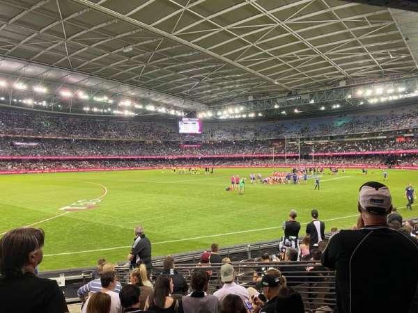 Marvel Stadium, sección: Aisle 18, fila: L, asiento: 45