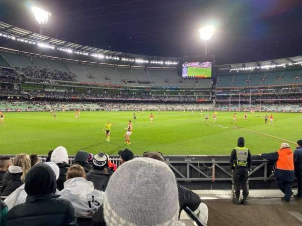 Melbourne Cricket Ground, sección: M28, fila: J, asiento: 12