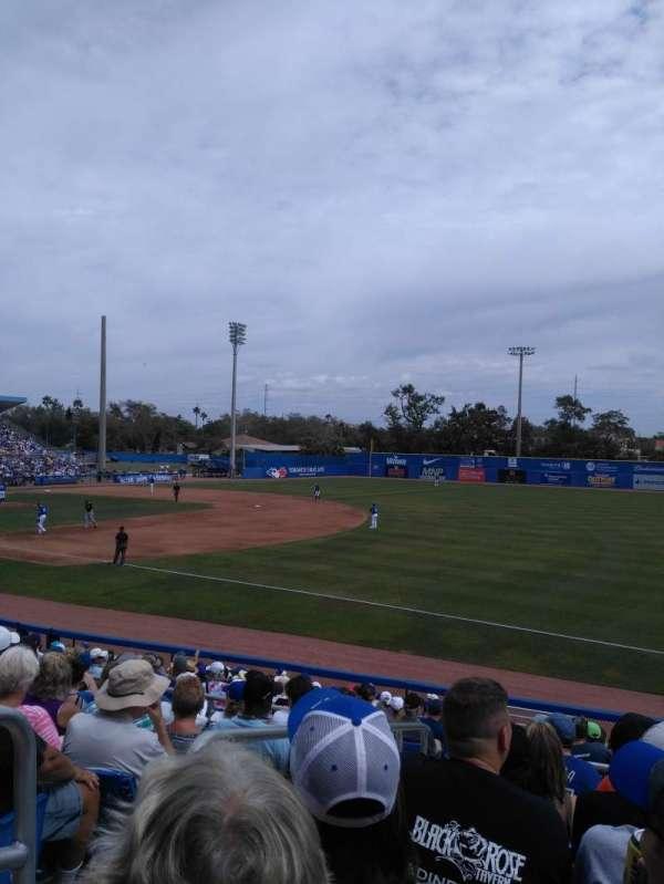 Florida Auto Exchange Stadium, sección: 200, fila: 8, asiento: 21