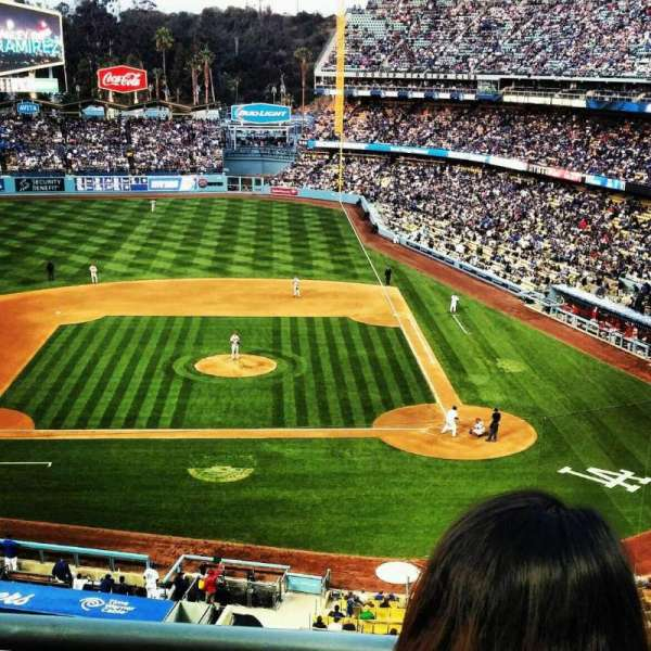 Dodger Stadium, sección: 11rs, fila: B, asiento: 5 and 6