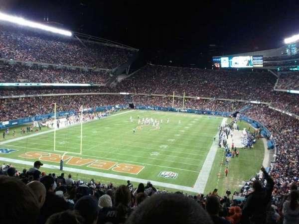 Soldier Field, sección: 220, fila: 1, asiento: 3