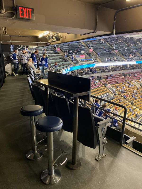 Scotiabank Arena, sección: Molson, fila: 1, asiento: 16-17