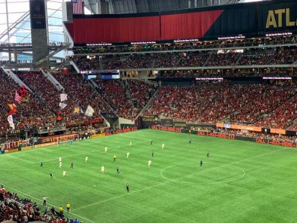 Mercedes-Benz Stadium, sección: 231, fila: 7, asiento: 20