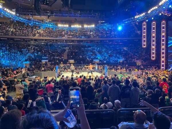 Madison Square Garden, sección: 107, fila: 4, asiento: 1