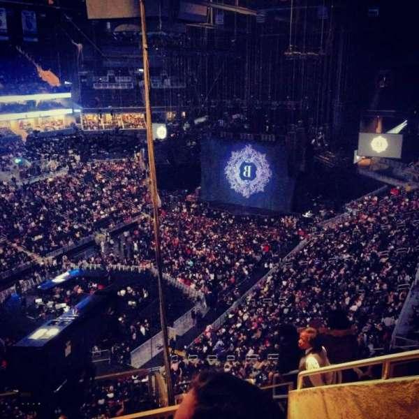 Barclays Center, sección: 213, fila: 13, asiento: 7