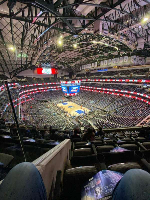 American Airlines Center, sección: 321, fila: H, asiento: 11