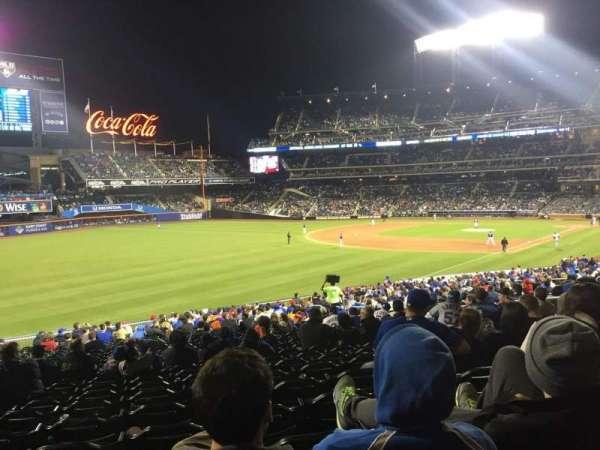 Citi Field, sección: 129, fila: 34, asiento: 16