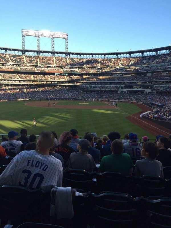 Citi Field, sección: 134, fila: 7, asiento: 8