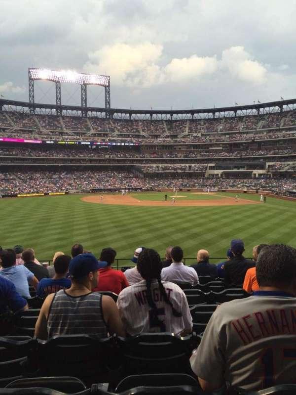 Citi Field, sección: 136, fila: 8, asiento: 11