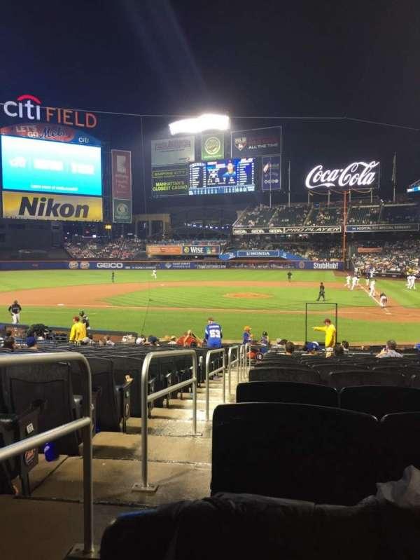 Citi Field, sección: 18, fila: 20, asiento: 17