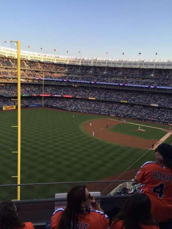 Yankee Stadium, sección: 332a, fila: 3, asiento: 7