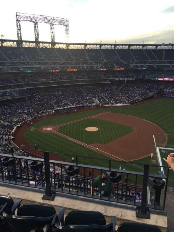 Citi Field, sección: 504, fila: 3, asiento: 20