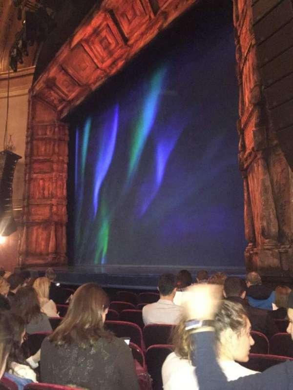 St. James Theatre, sección: Orchestra R, fila: G, asiento: 22