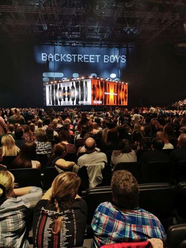Arena Birmingham , sección: E, fila: T, asiento: 16