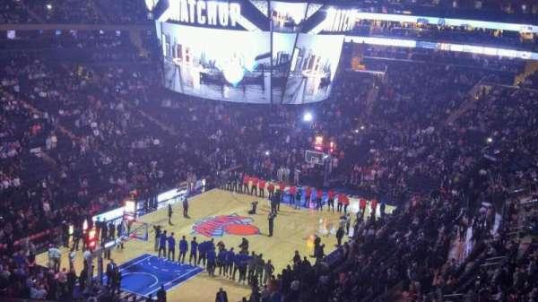 Madison Square Garden, sección: 419, fila: 3, asiento: 11