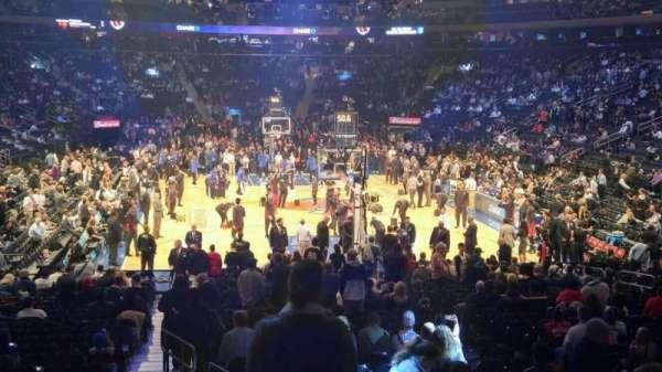 Madison Square Garden, sección: 102, fila: 14, asiento: 1