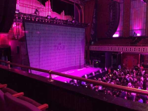 The Tabernacle, sección: 206, fila: B, asiento: 1-2