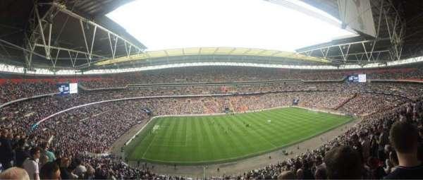 Wembley Stadium, sección: 529, fila: 12, asiento: 70