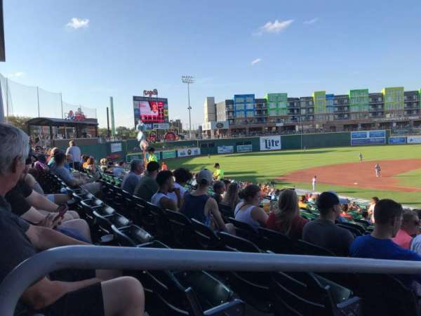 Cooley Law School Stadium, sección: L, fila: 27, asiento: 19