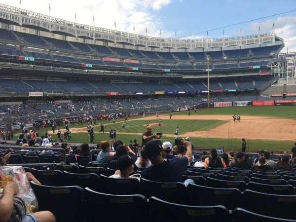 Yankee Stadium, sección: 114b, fila: 15, asiento: 11
