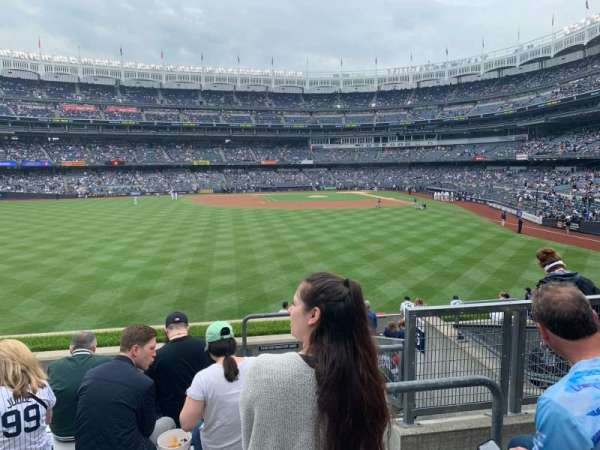 Yankee Stadium, sección: 236, fila: 7