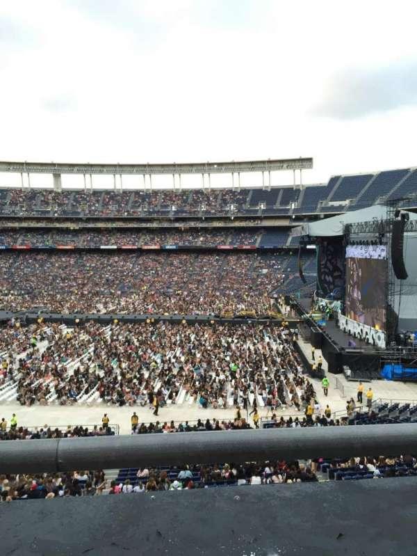 SDCCU Stadium, sección: C39, fila: 1, asiento: 10
