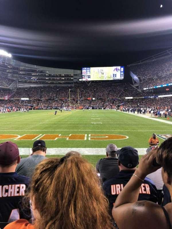 Soldier Field, sección: 150, fila: 4, asiento: 2