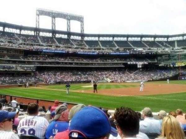 Citi Field, sección: 110, fila: 5, asiento: 9