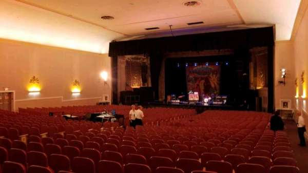 Keswick Theatre, sección: Back Right, fila: Z, asiento: 26