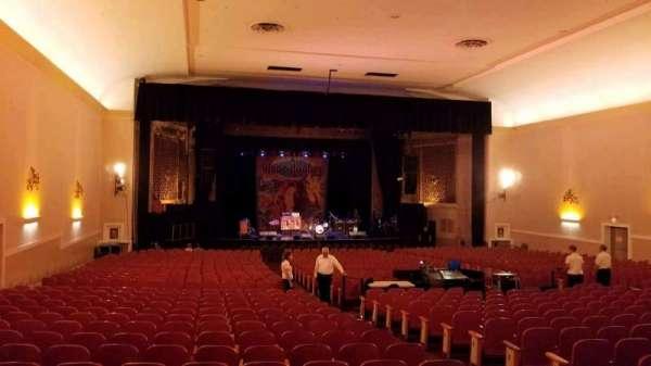 Keswick Theatre, sección: Back Left, fila: Z, asiento: 11