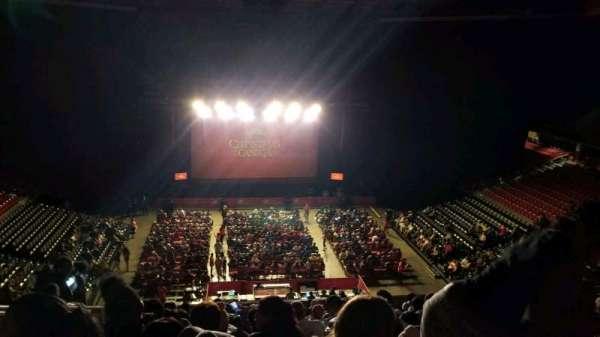 Liacouras Center, sección: 208, fila: M, asiento: 19