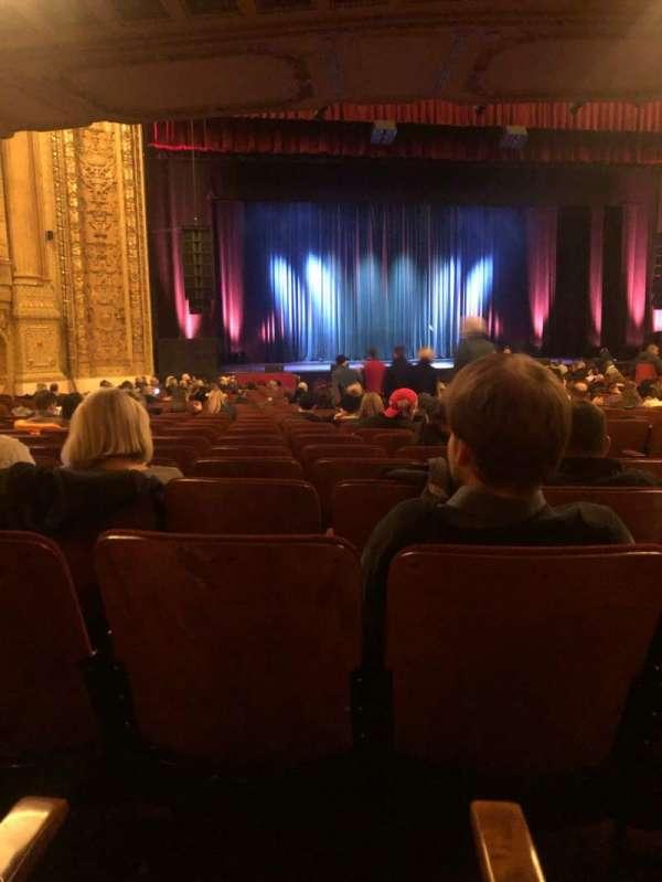 Chicago Theatre, sección: MNFL3L, fila: N, asiento: 307